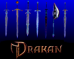 Drakan weapons - templates by MorellAgrysis