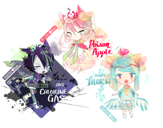 [CLOSED] SP Adopts: Poison Themed Parfumimi by ToasterKiwi