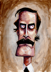 Basil Fawlty Caricature by ryanneal