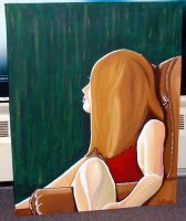 Model painting by redtoday