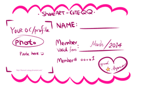 MeMe of Membership Card :) by angiewaiwai