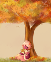 Autumn Padparadscha by tctwig