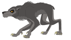 An American Werewolf In London - Animated Style by EliteRaptor2015