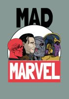 Mad Marvel by PotteringAbout