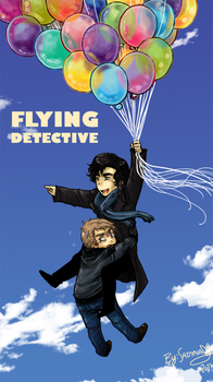 SH - Flying Detective- by Sadyna