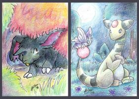 Two more ATCs by nepryne