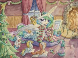 While the Pageant Plays by The-Wizard-of-Art