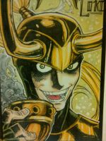 Sketch card -1- LOKI by nork
