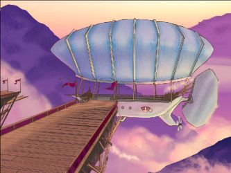 Screencap of Airship Scene by littleguineapig