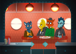 Night in the Woods: Click Clack Diner (Digital) by gilamasan