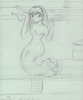Old work - Anime Synthea by KingMonster
