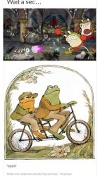 Ribby and Croaks are really Frog and Toad by DelightfulDiamond7