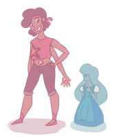 Ruby and Steven Fan Fusion by dasagoo