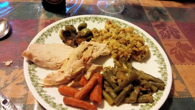 My 2014 Thanksgiving Plate by BigMac1212