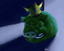 Pig King by peannlui
