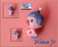 Chibi Mime Jr. by Olber-Correa