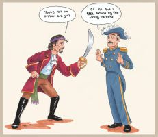 Pirate King meets Corcoran by chill13