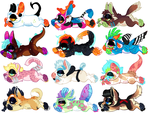 +ADOPTS+ LA-Zs ( 2/12 OPEN!) by IMonsterDrool