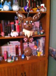 Eevee Polymer clay by Ash-a-bash