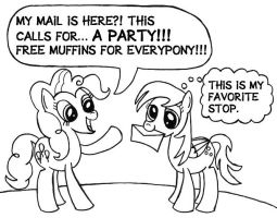 Mail Delivery Party by SamuelEAllen
