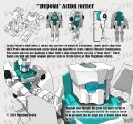 Action Formers - Disposal Armor Set by wulongti