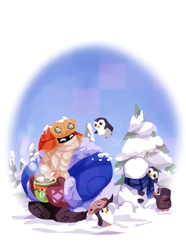 Snow day Bard by AninhaT-T