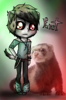 Furet the Fursa -OC- by The-Element-Five