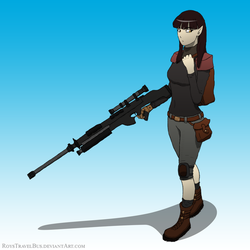 Rena the Sniper by RoysTravelBus