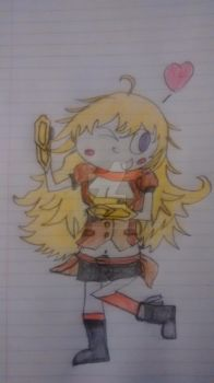 RWBY - Yang Xiao Long by superdes513