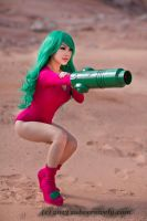PEW PEW JUSTIN BAILEY METROID by VampBeauty
