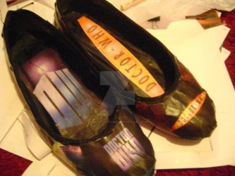 Dr. Who Shoes by SirLadyCostumer