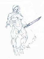 duergar thief on the prowl ! :D by Selkirk