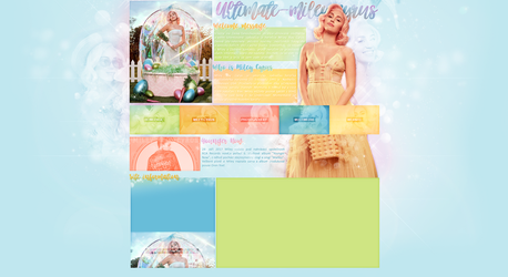Ordered design | Ultimate-mileyrcyrus.blog.cz by KeviWorldArt