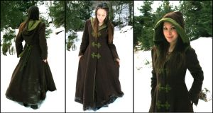 Fantasy Forest Winter Coat by Navanna