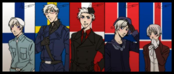 APH - Nordic countries by ShujiE