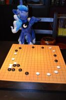 Luna playing go2 by AleriaVilrath