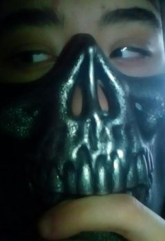 Tfw dat cool mask doesnt fit you by Fire-Ebony