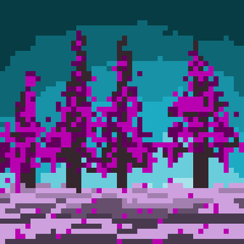 Mystic trees by BCPixels