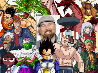 Character Compilation: Christopher Sabat [Revised] by Melodiousnocturne24