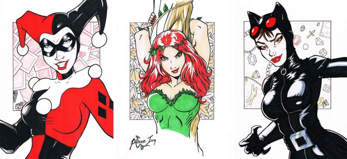 Gotham Sirens (Complete) by UndeadPandaProd