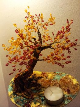 The Fire Element Tree by Juliatron