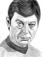 Dr McCoy, Star Trek TOS by amybalot