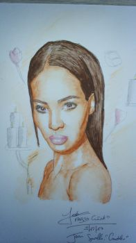 Joan Smalls, Candles by fab37
