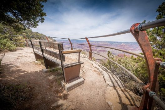 Grand Canyon Bench by theCrow65