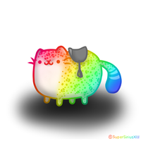 Daily Art - 097 - NyanLeopard mount by SuperSiriusXIII