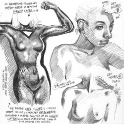 EMP COSPLAY life drawing from photoref, 2017-02-16 by AdamWarren