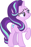 Smug Starlight Glimmer by Comeha