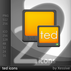 ted Icons by XSV