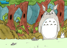 totoro by PoneBooth