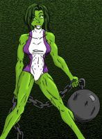 She Hulk by havent-slept